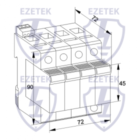 УЗИП EZ C 160/275 (3+1)